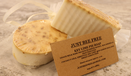 Just Bee Free Key Lime Pie Soap