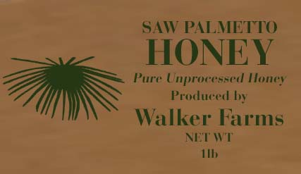 Walker Farms Saw Palmetto Honey