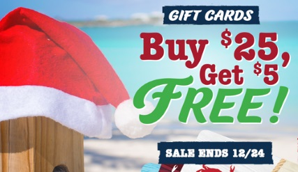 Gift Card Promotion